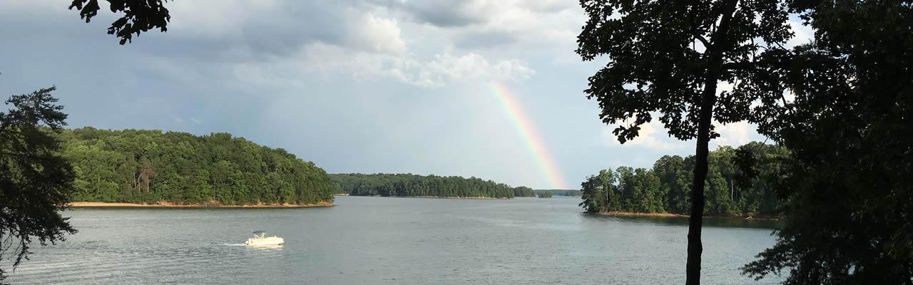 rainbow lake lanier ga